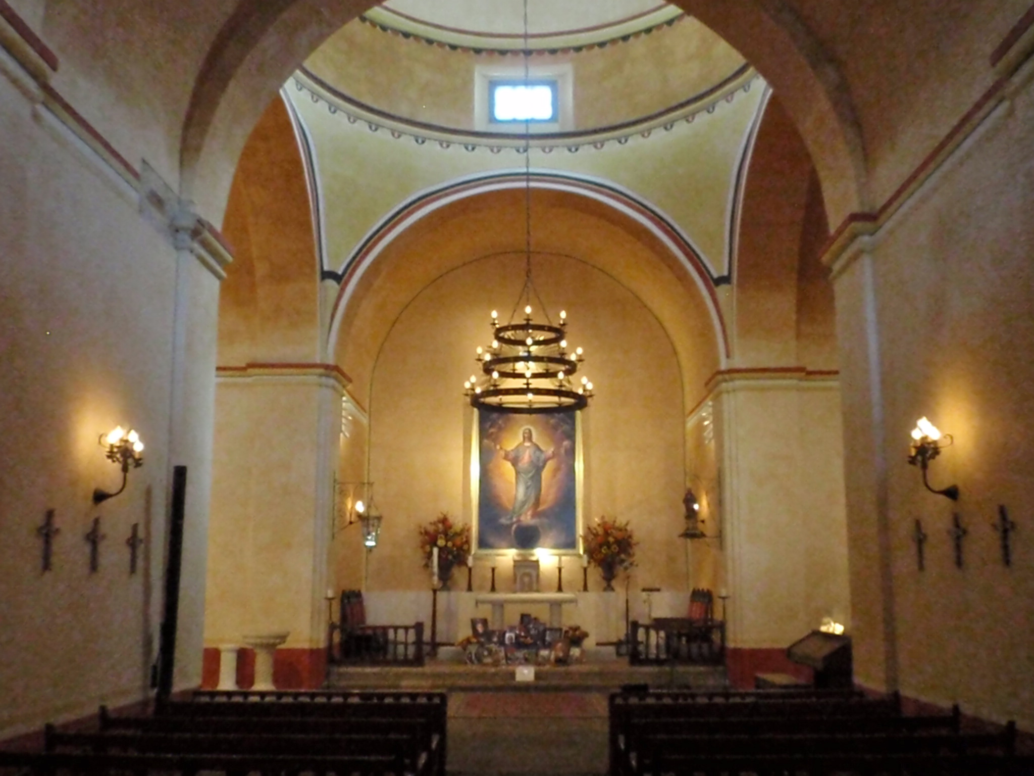Mission Concepcion Church Interior