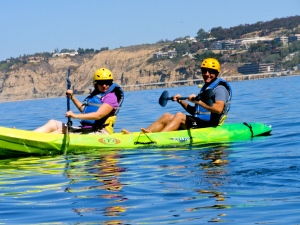 Kayaking La Jolla Shores
