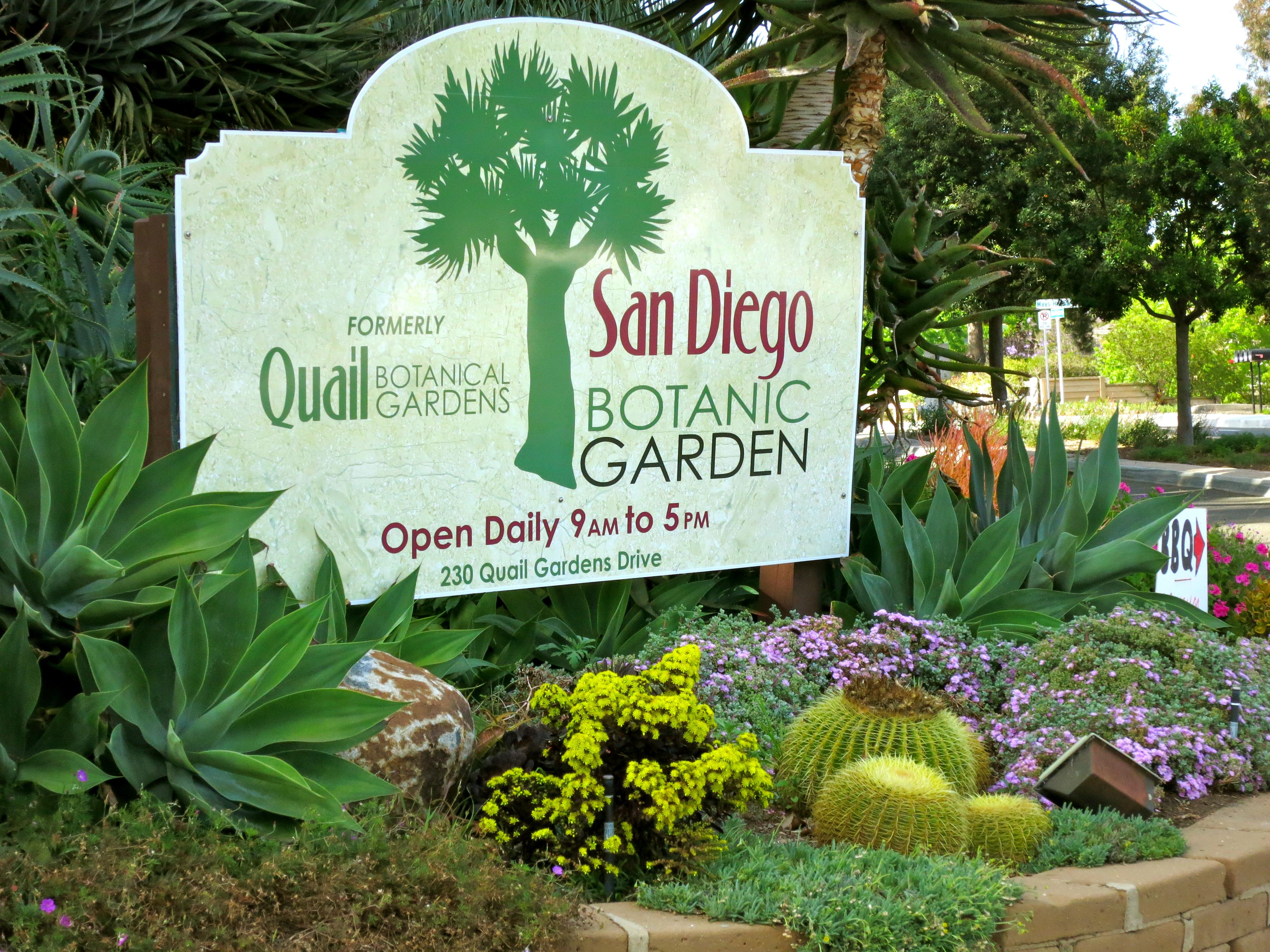 if you like color san go botanical gardens paint your landscape