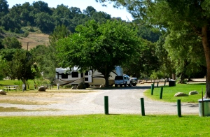 Lake Casitas campground
