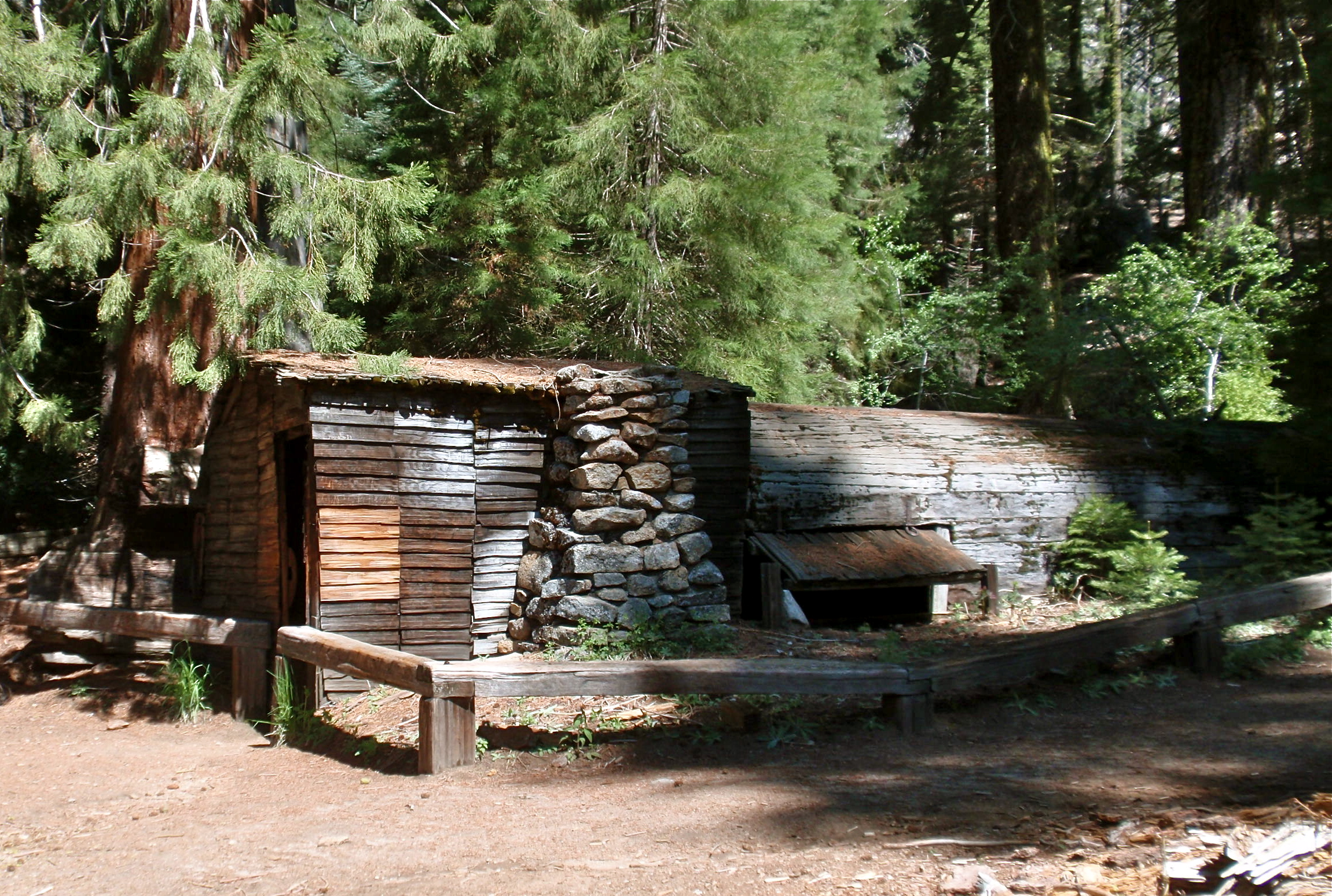 stock park royalty cabin image historic sequoia in national gamlin cabins photo