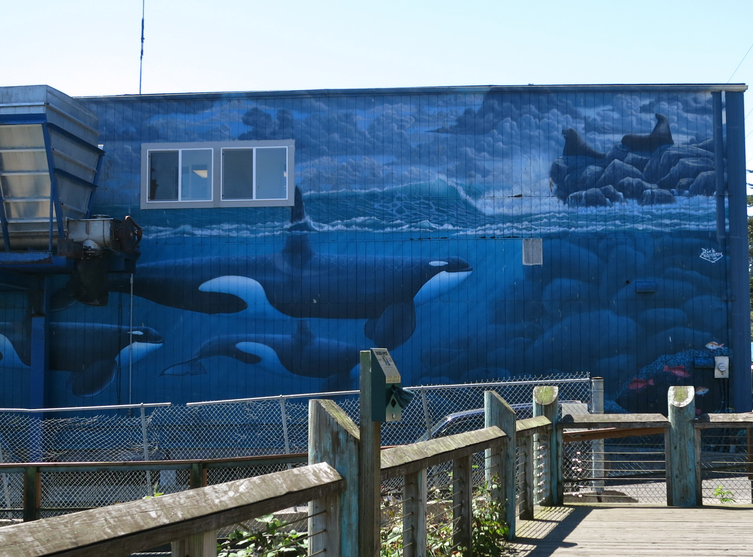 yaquina bay lighthouse paint your landscape sailor s knot colorful fishing net spool ocean mural on the bay