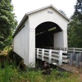 Mosby Creek covered bridge ~ OR
