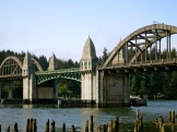 Art Deco bridge ~ Florence, OR