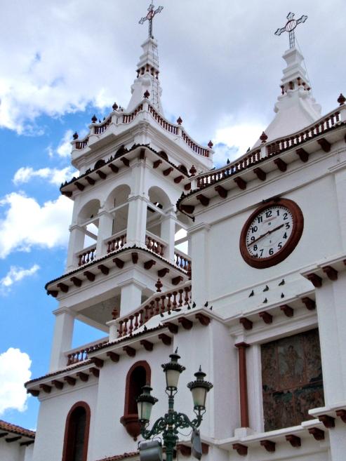 Stark white church ~ Mazamitla
