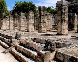 Thousand Columns Temple ~ Chichen Itza