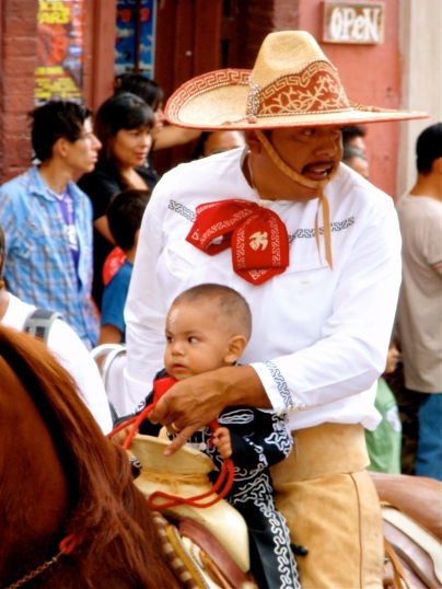 Caballero and his bambino ~ Ajijic