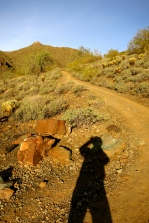 Me and my shadow on the Go John trail