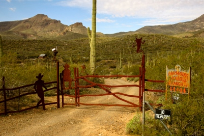 Harmony Hollow Ranch at the base of Elephant Mountain