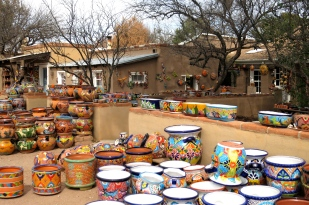 Colorful pottery