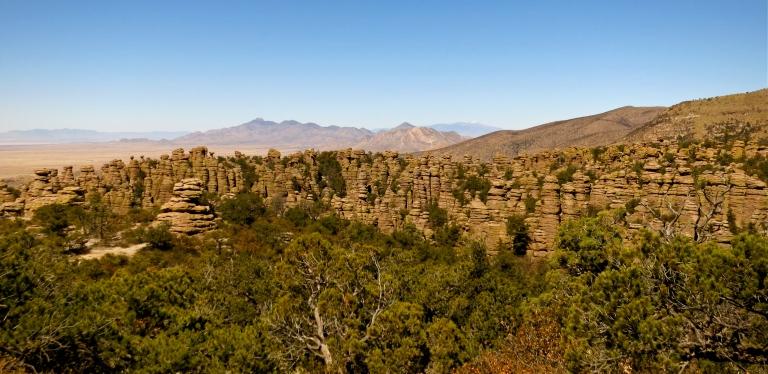 Chiracahua Mountain Range