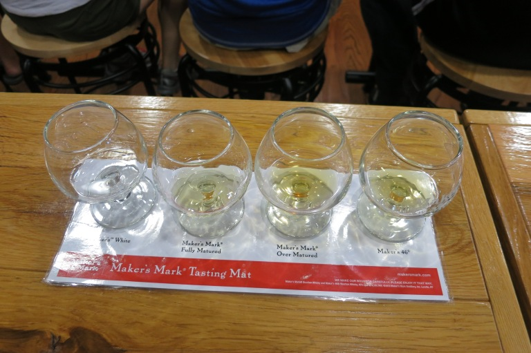 Bourbon tasters