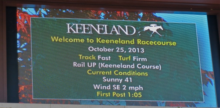Welcome to Keeneland