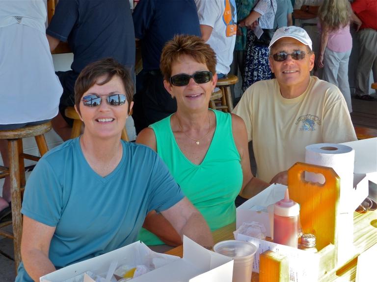 Me, Pam, and John