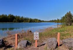 Fishing and boating lake