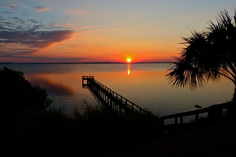 Sunrise over Indian River Lagoon