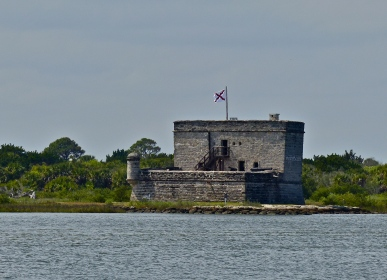 Fort Matanzas, accessed only by ferry