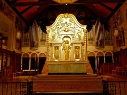Altar inside Basilica