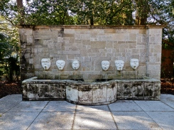 Fountain of Masks