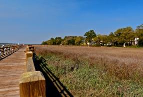 Past salt marshes