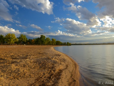 Lovely lake at Cherry Creek SP