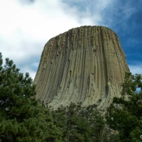 Sacred Space or Climbing Mecca ~ Devils Tower National Monument, WY