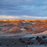 An Ancient Landscape ~ Petrified Forest National Park, AZ