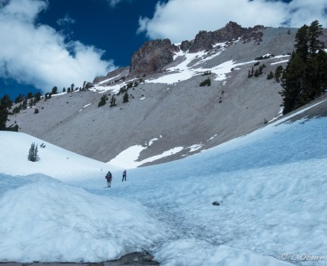 Lassen Peak Trail closed due to snow