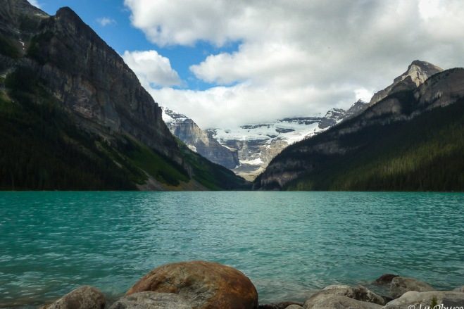 The iconic Lake Louise