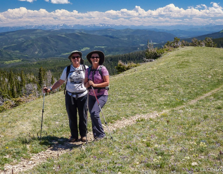 Rosie and me on Shafthouse Trail