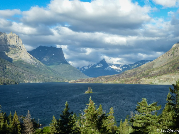 Wild Goose Island, one of the most iconic views in the park