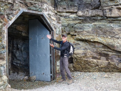 Terry ready for Ptarmigan Tunnel