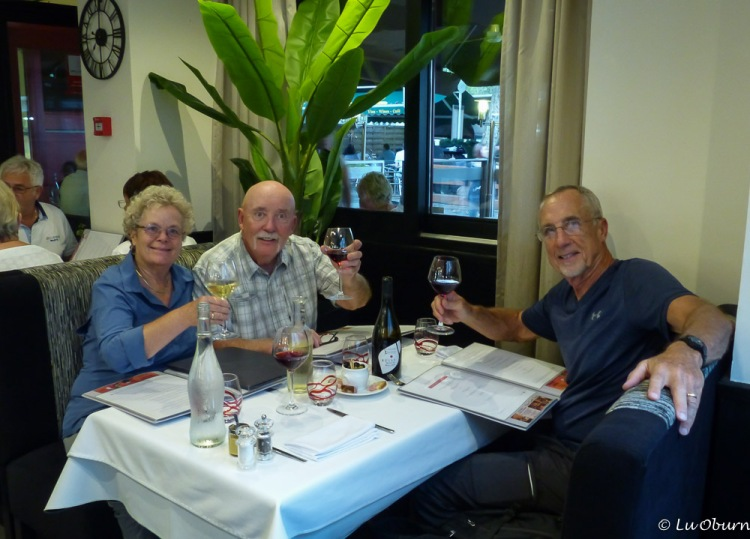 Dining at Le Belena