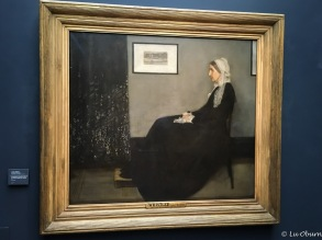 Whistler's Mother by James Abbott