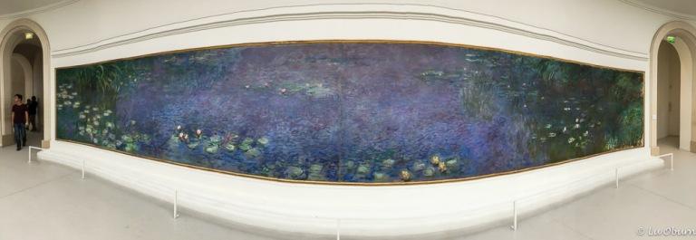 "Claude Monet's ""Water Lilies"" ~ Orangerie Museum"