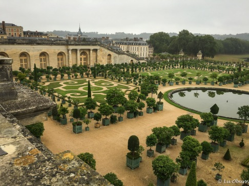 Formal gardens near the Trianon Palace