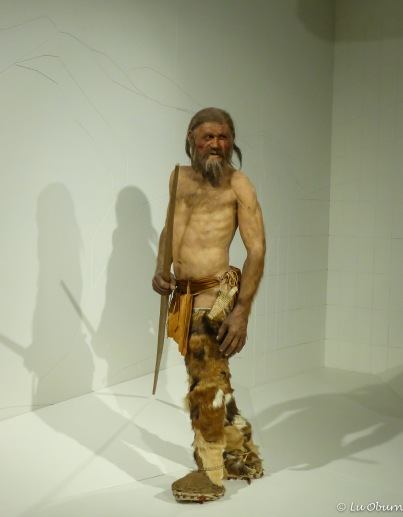 Ötzi the Iceman rendition