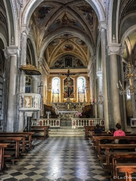 Inside Church of San Pietro