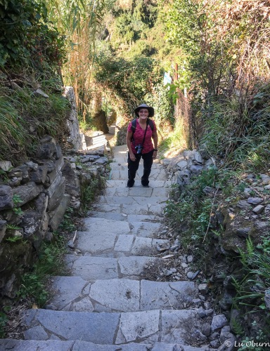 We opted to tackle the stairs first on our way from Monterosso to Vernazza.