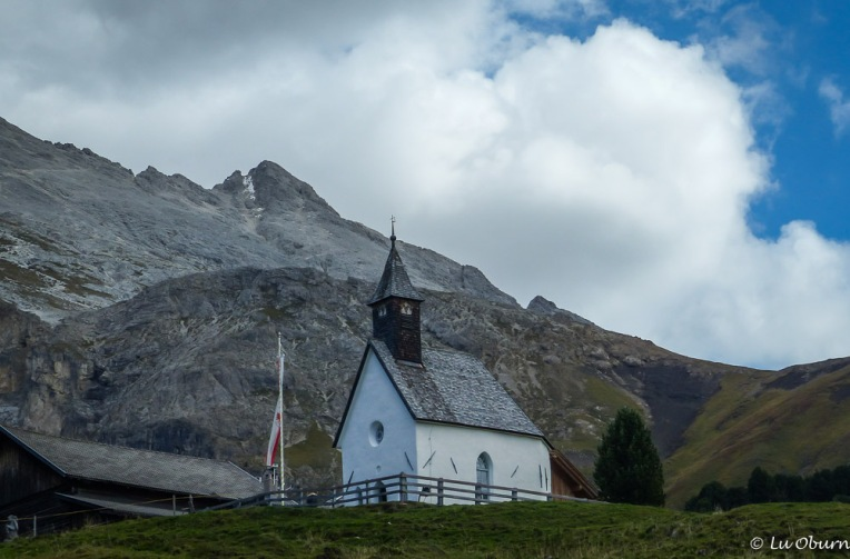 One of several chapels along the Alpe di Siusi