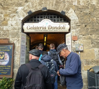 Gelato world champion - Gelateria Dondoli
