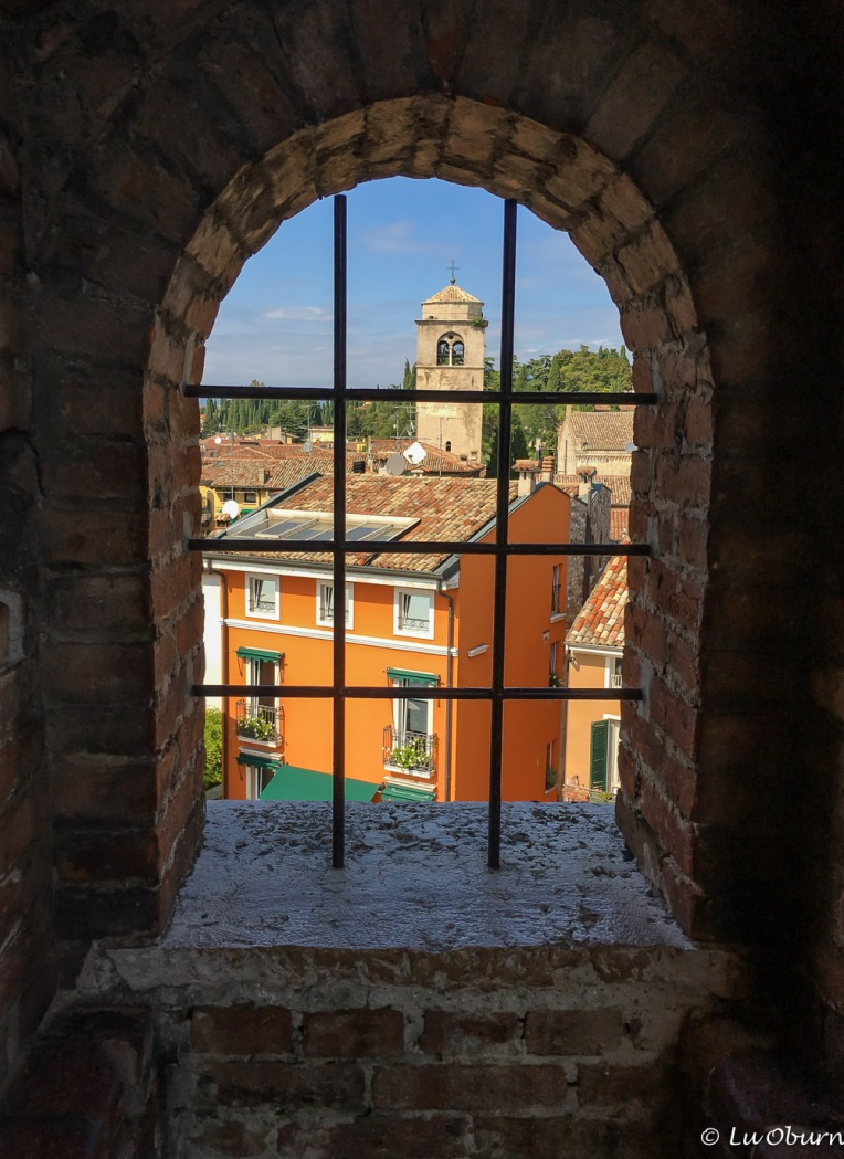 View from the castle window