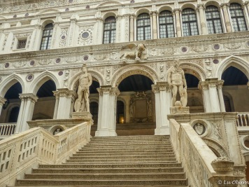 Stunning marble staircase