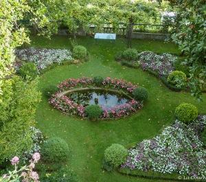 Lovely villa gardens
