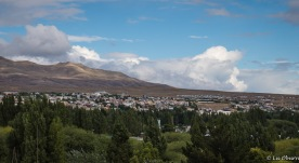 View of El Calafate.