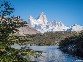 The viewpoint at Lago Capri provides great views of Fitz Roy.