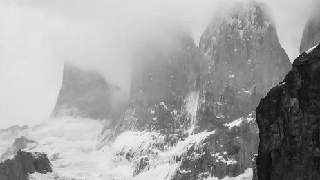 Cold granite towers