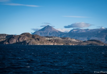 So many volcanoes grace the Patagonian landscape.