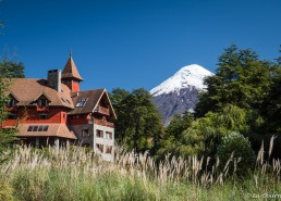 Captivating views of Osorno Volcano from the Petrohue Lodge.