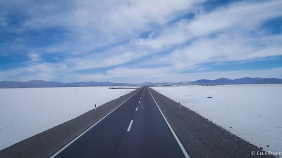 We have arrived at the Salt Flats.
